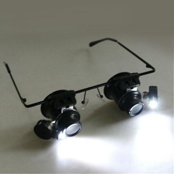 20x Vergrößerungs Auge Vergrößerungsglas Brille Lupe Linse Juwelier Uhren Im Sommer KüHl Und Im Winter Warm