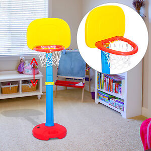 basketballst nder basketballkorb kinder st nder h henverstellbar 120 155cm ebay. Black Bedroom Furniture Sets. Home Design Ideas