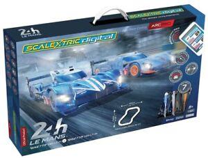 Scalextric-Set-C1404-Le-Mans-24hr-Arc-Pro-DIGITAL-Racing-Set-with-APP-Control