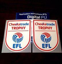 Coventry City - EFL Checkatrade Trophy Final Shirt Sleeve Patches - 100% Genuine