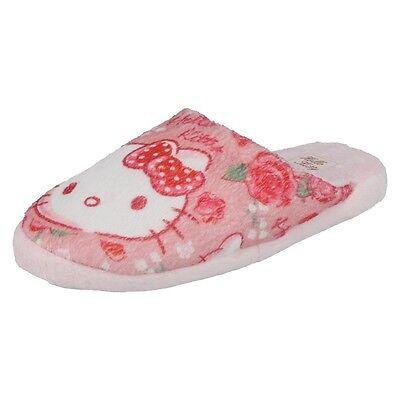Niños en interiores Zapatos de chicas Bebé Rosa Hello Kitty Para Niños Zapatillas hk93657