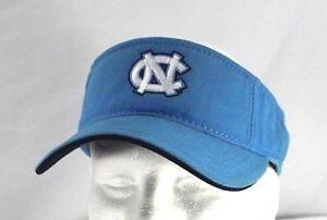North-Carolina-Tar-Heels-Blue-Plaid-Visor-Adjustable