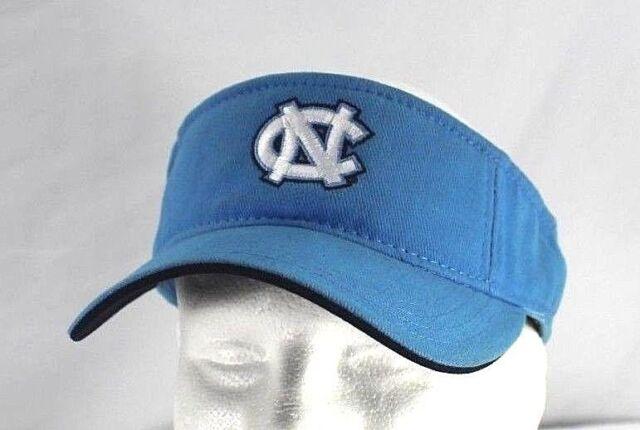 North Carolina Tar Heels Blue Plaid Visor Adjustable