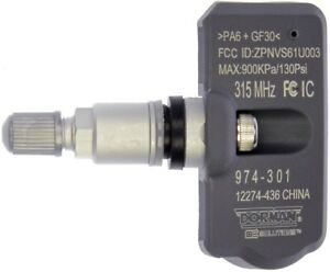 TPMS-Programmable-Sensor-fits-1999-2009-Volvo-S80-V70-S60-DORMAN-OE-SOLUTIONS
