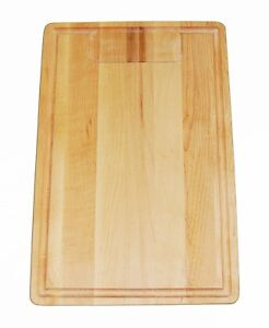 Details about Starfrit Maple Cutting chopping board 18x12 in made in Canada  100% paypal