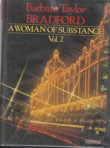 Barbara-Taylor-Bradford-A-Woman-Of-Substance-Vol-2-12-Cassette-Audio-Book