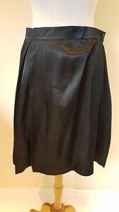 Vivienne-Westwood-Boeing-Black-Gold-Skirt-Size-44-BNWT
