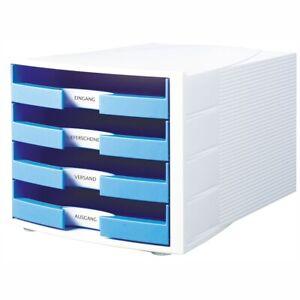 Farbe wählbar HAN Schubladenbox A4 1011-X IMPULS Trend Color