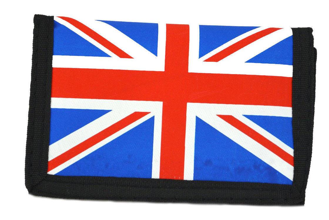 City Men's Union UK Jack Flag Trifold Wallet
