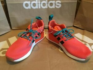 new styles b2139 e49ca Details about NEW! Adidas NMD R2 Summer Men's size 9 Orange Black white  Boost Originals EQP