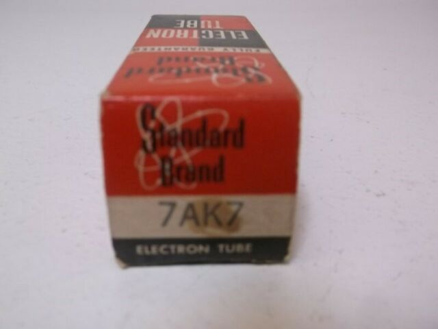 STANDARD 7AK7 VACUUM TUBE * NEW IN BOX *