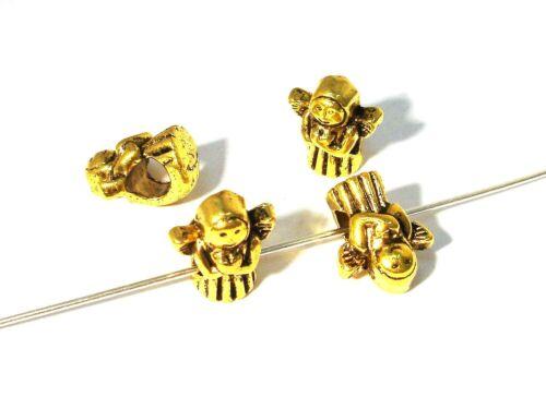 module perles ange 2 pcs #z3 or 13x11mm Großloch perles