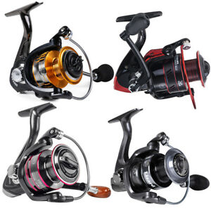 All Models Powerful Spinning Fishing Reels Metal Body Left/Right Interchangeabl