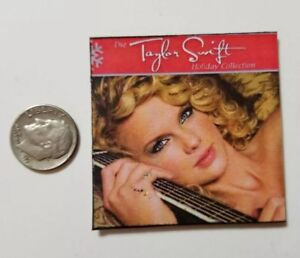 Miniature record AG Barbie Gi Joe 1//6    Playscale Taylor Swift Album Reputation