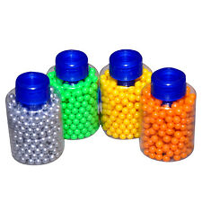 4 Packs of 400 appx each Accurate High Grade BB Bullets for Gun Toy | Multicolor