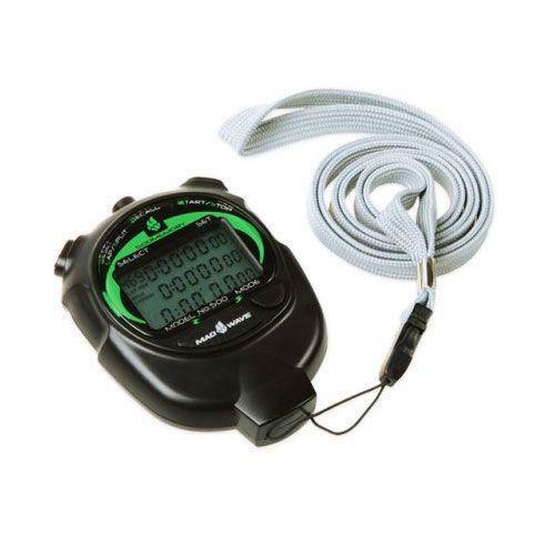 Mad Wave Professional Stopwatch 500 Memory