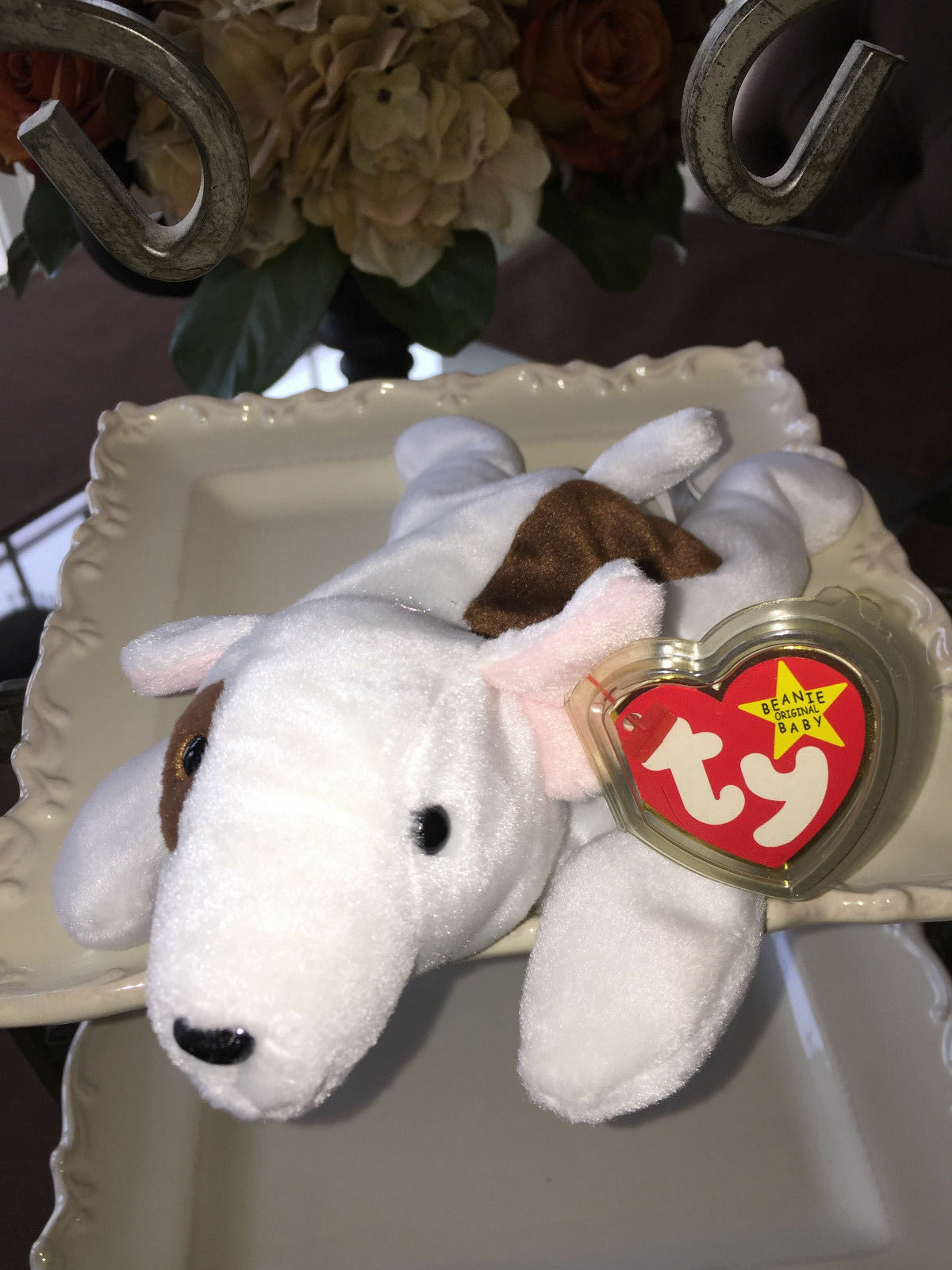 TY Beanie Baby Butch Retired, Rare Errors No Numbers Inside, 1998 1999 Mint