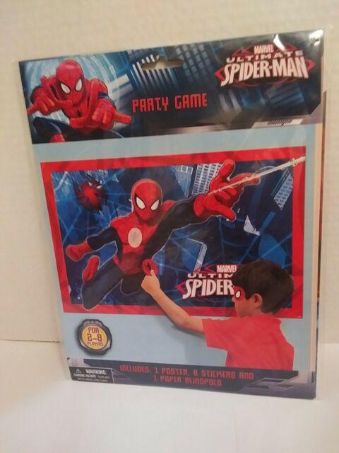 Ultimate Spiderman Honeycomb Decoration Marvel Kids Party Birthday Celebration