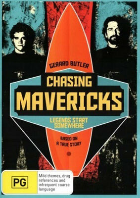 Chasing Mavericks DVD Brand New Aus Region 4 - Big Wave Surfing
