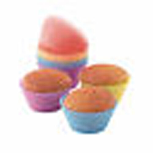 12 MOULES SILICONE  à Cup Cake Kitchen Artist MEN77