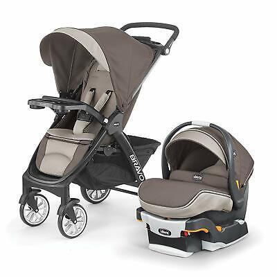 Chicco Bravo LE Trio 3-in-1 Travel System Stroller w ...