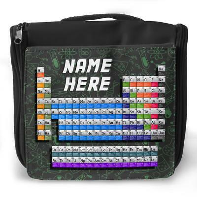 Personalised Pencil Case PERIODIC TABLE School Stationary Childrens Gift ST145