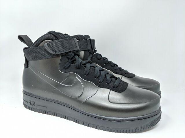 the latest 9a357 93623 Nike Air Force 1 Af1 Foamposite Cup Mens Sz 9 Triple Black Ah6771-001
