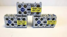 AB AUXILIARY CONTACT 195-MA22, 2NO+2NC CONTACTS-LOT OF 3