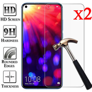2X-9H-Tempered-Glass-Screen-Protector-For-Huawei-Honor-8X-9X-8-9-10-Lite-20-Pro