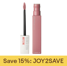 Maybelline SuperStay Matte Ink Liquid Lipstick,  0.17 fl. oz.