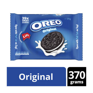 Oreo Creme Biscuits Family Pack Original 370g