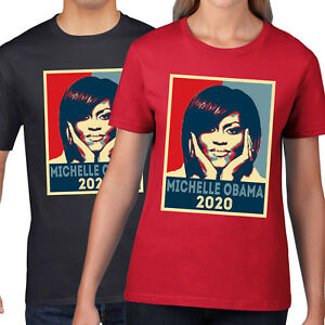 71aee05d Image is loading Michelle-Obama-2020-T-Shirt-America-Election-President-