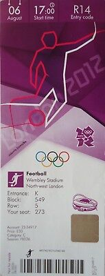 Olympic Memorabilia Ticket Olympic 26/7/2012 Women's Fussball France Vs Japan # R14 Handsome Appearance