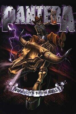 Free Shipping! Pantera Cowboys From Hell CFH Permanent Vinyl Decal