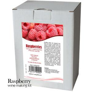 Raspberry-Wine-Making-Kit-20-L-of-Rose-Wine-Home-Brew-amp-Wine-Making