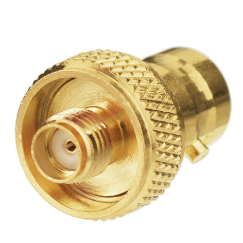 Gold plated SMA-Female to BNC-Female Jack Convert RF Adapter connector straight