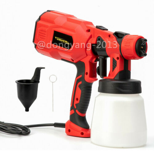 Electric Paint Sprayer Gun 550W Spraygun Fence Garden Outdoors Indoor 3 Modes UK