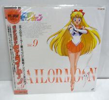 SAILOR MOON VOL. 9 LASER DISC LD NTSC JAP CLD-A100 RARE