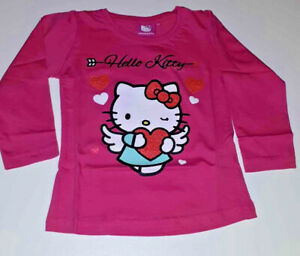 Trolls LS T-Shirt Parte Superiore a Maniche Lunghe Bambina