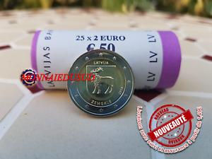 2-Euro-Commemorative-Lettonie-2018-Region-Zemgale-UNC-NEUVE