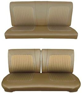 Tremendous Details About 64 Falcon Futura Hardtop Full Upholstery Set W Split Bench Seat Palomino Caraccident5 Cool Chair Designs And Ideas Caraccident5Info
