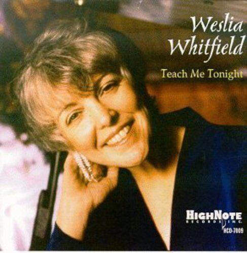 Wesla Whitfield, Weslia Whitfield - Teach Me Tonight [New CD]