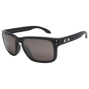 afeb520ed7c Oakley OO 9102-01 HOLBROOK Matte Black Frame Warm Grey Lens Mens ...
