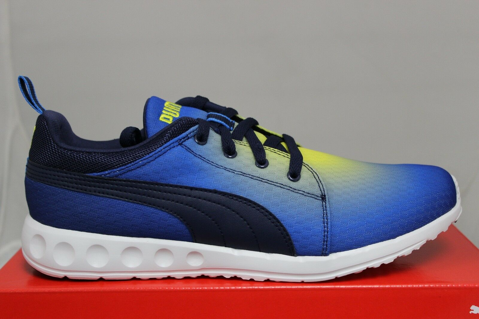 PUMA Carson Runner Radial 188761 03 French bluee Black Buttercup Brand New