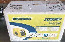 Bacharach Stinger 2000 Hvac Refrigerant Freon Recovery Machine
