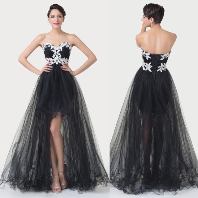 Sexy Lang Kurz Ballkleid,Abendkleid,Hochzeitskleid Brautkleid,Partykleid Kleid