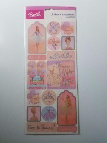 Sandylion Scrapbook Die Cut Sticker Barbie Ballet Dance