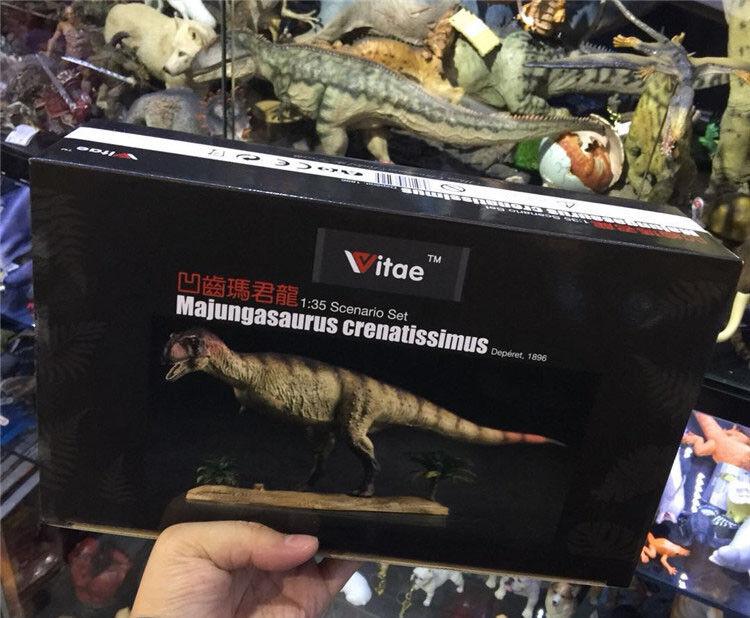 Majungasaurus crenatissimus Dinosaurs Resin figure 1 35 35 35 figure model Vitae c5c77a
