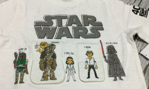 Nwt 2T Star Wars Shirt /& Tan Brown Shorts Outfit Details about  /Baby Gap Boys 2