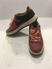 Nike Air Force 1 Basketball Shoes Fusion Red Noble Red
